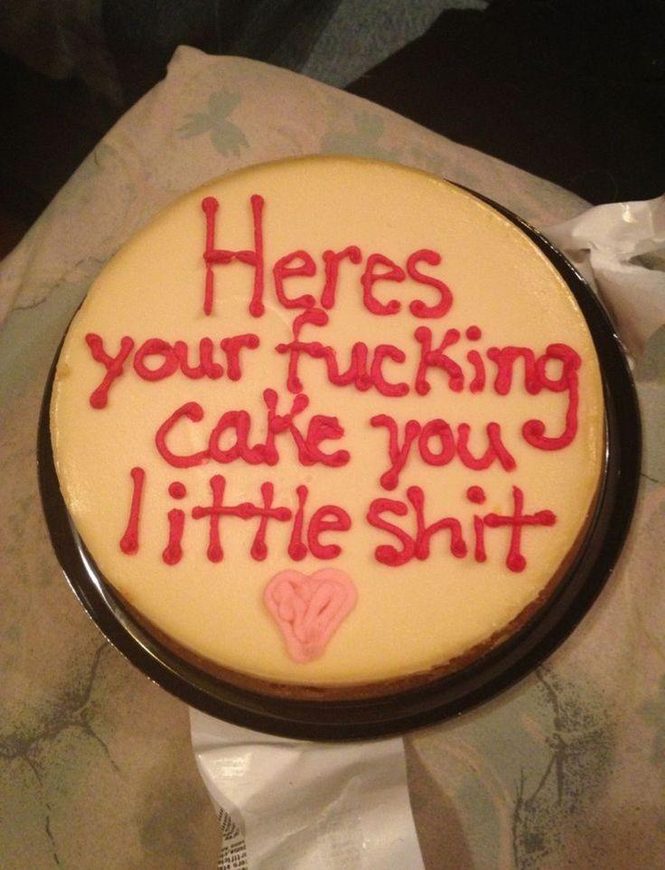 Fuck cancer cake