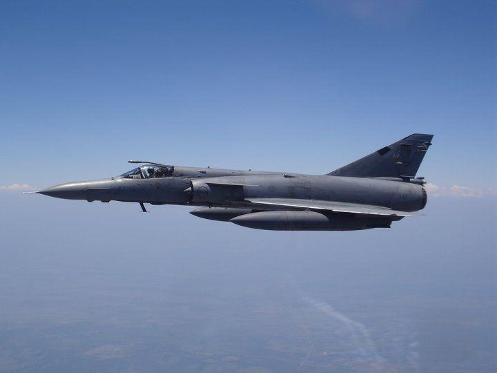 """South African Air Force Atlas """"Cheetah""""."""