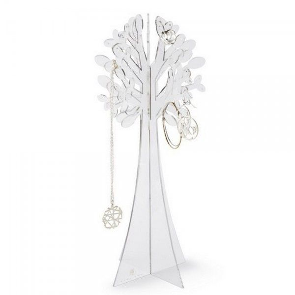 Arbre à bijoux transparent umbra laurel - Kdesign
