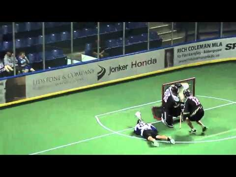 Langley Thunder Play of the Game vs. Burnaby Lakers  6-6-2012