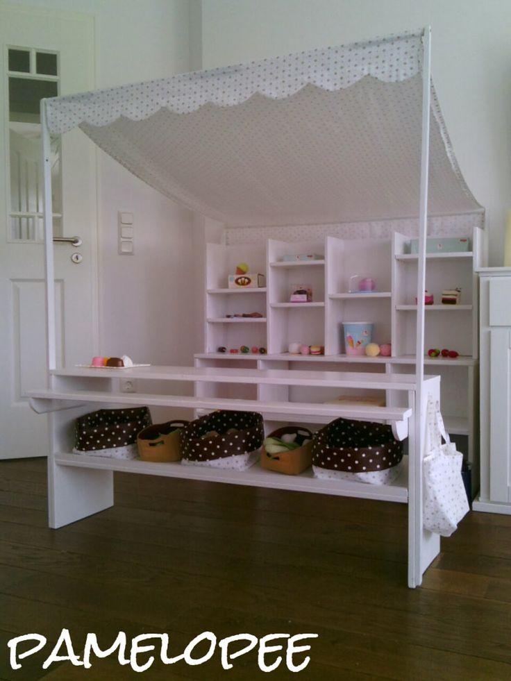 1000 bilder zu kaufladen auf pinterest rollenspiel marktst nde und spielger te. Black Bedroom Furniture Sets. Home Design Ideas