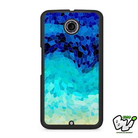 Blue Pattern Gradient Nexus 6