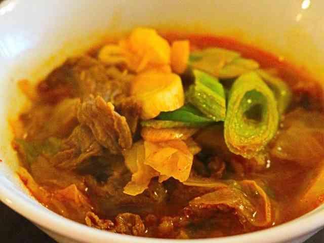 ★簡単・美味しい「ユッケジャンスープ」
