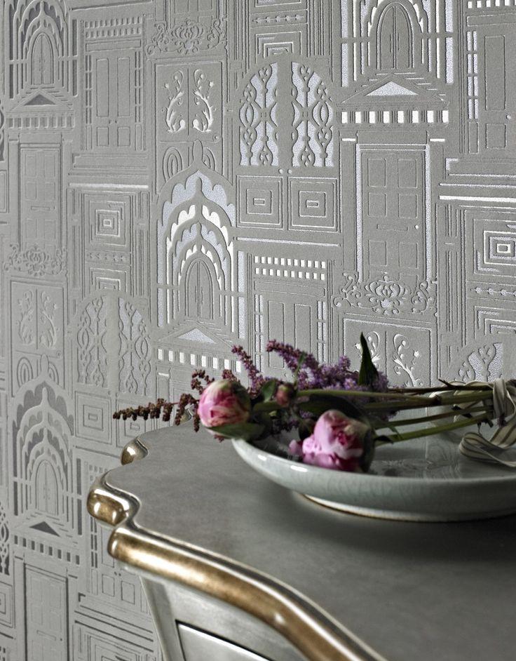 17 best ideas about flock wallpaper on pinterest velvet