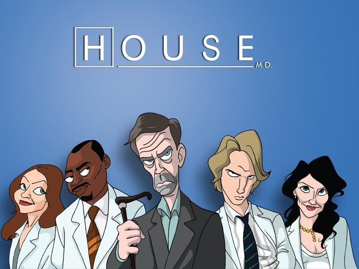house cartoon