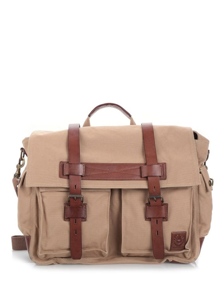 BELSTAFF Cargo Pocket Holdall. #belstaff #bags #shoulder bags #hand bags #leather #cotton #