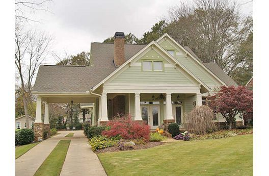 14 best images about porte cochere on pinterest for Cottage house plans with porte cochere