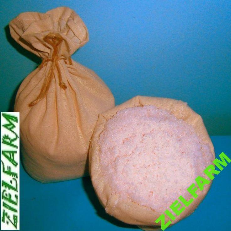 Sól himalajska różowa - drobna (0-1 mm) 1kg