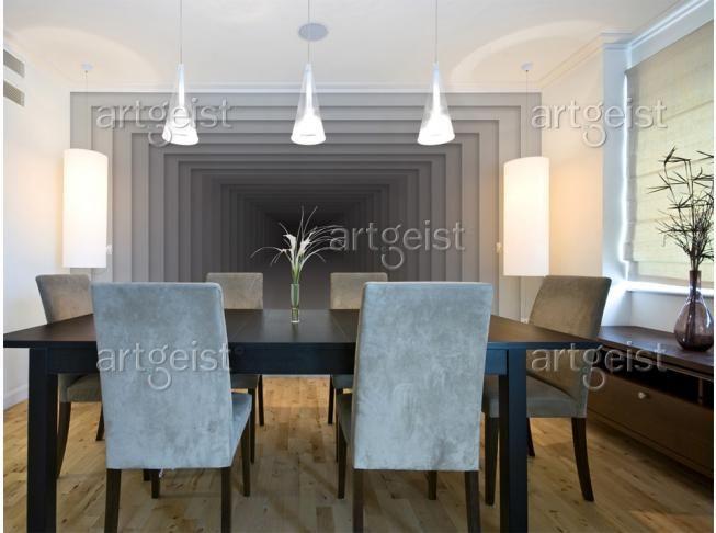 Fotomurali 3d sono un'originale idea per aumentare otticamente lo spazio  - ve li raccomandiamo #fotomurale #fotomurali3d #cartadaparati #3d #cartadaparati3d #fotomurali #wallpapers #homedecor #artgeist #decorazionimurali #decorazioni
