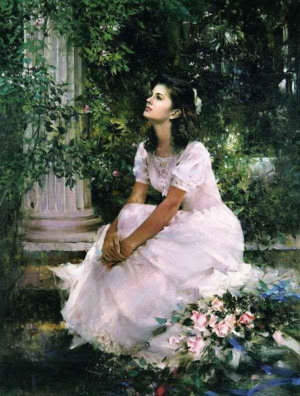 Garden girl An He ! Art