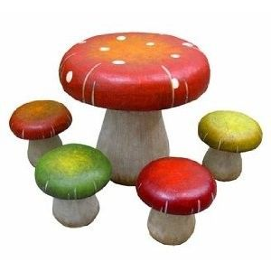 Fairy room - or just because toadstools are cool