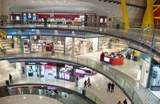 El centro comercial en Barcelona es fantasía.