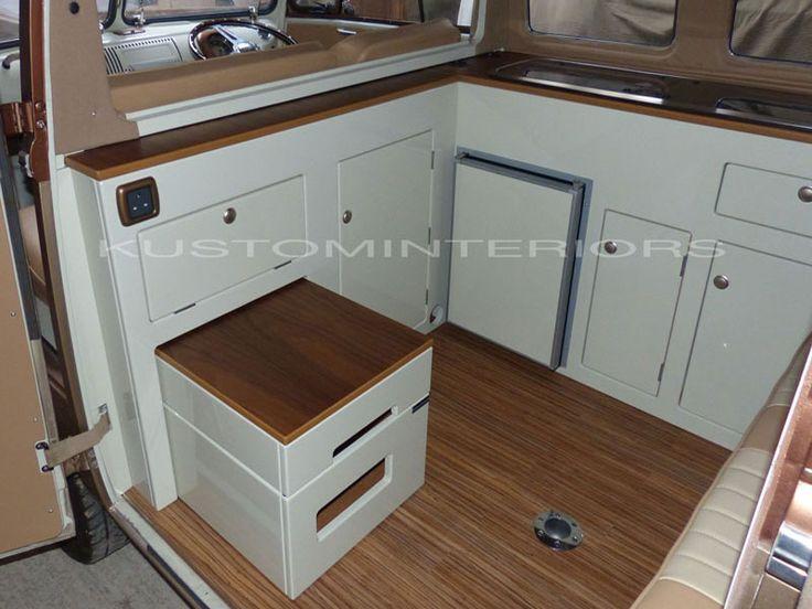 Custom Camper Interiors - VW Camper Interiors - Camper Conversions - Kustom Interiors Cornwall