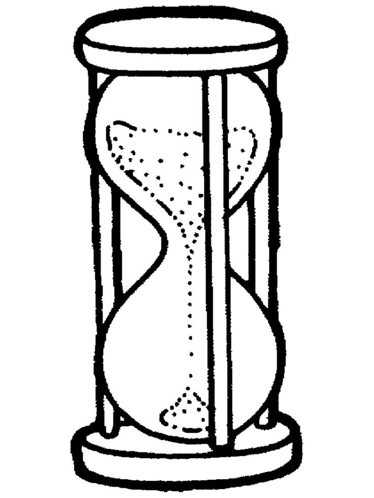 coloring pages sand timers - Google Search