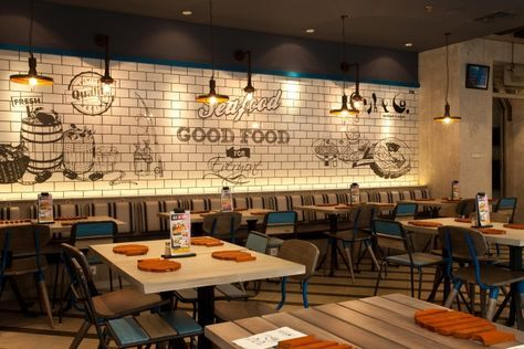 Fish & Co Restaurant by Metaphor Interior at Puri Indah Mall, Jakarta – Indonesia » Retail Design Blog