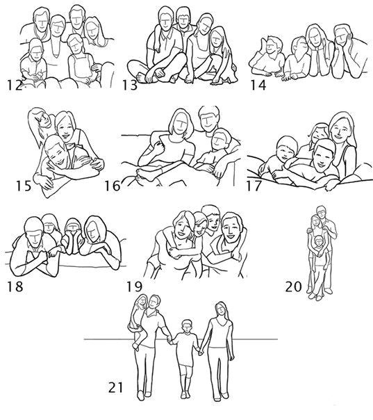 family picture poses