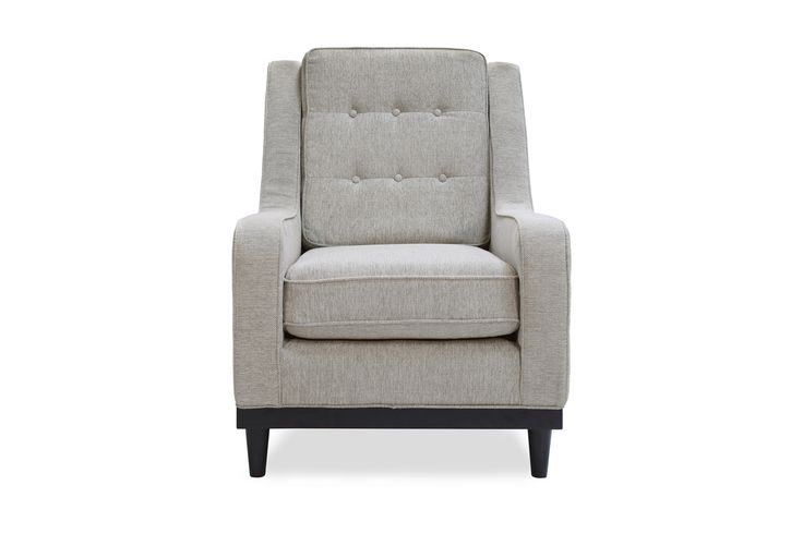 Freeman Armchair, Light Gray - Accent Chairs - Chairs | Capsule