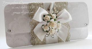 Доброго всем вечера)) На повестке дня ночи, у меня заказ от моей подруги с института) Два свадебных подарочных конверта для денег: ...
