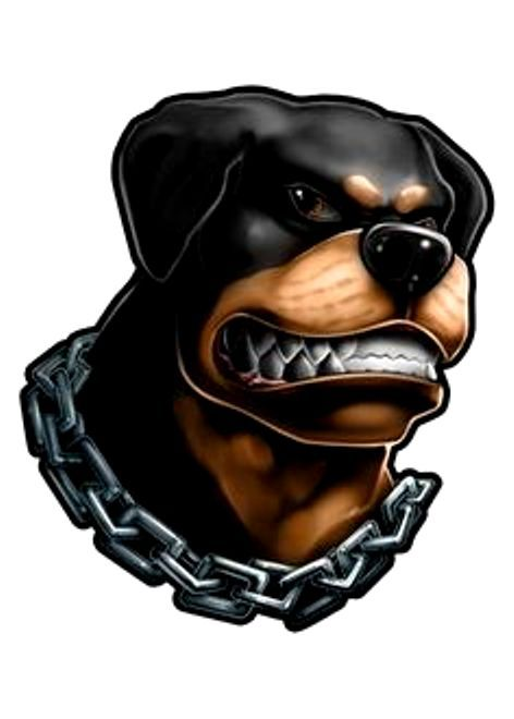 Angry Rottie cartoon art | Rottweiler love, Cartoon art ...