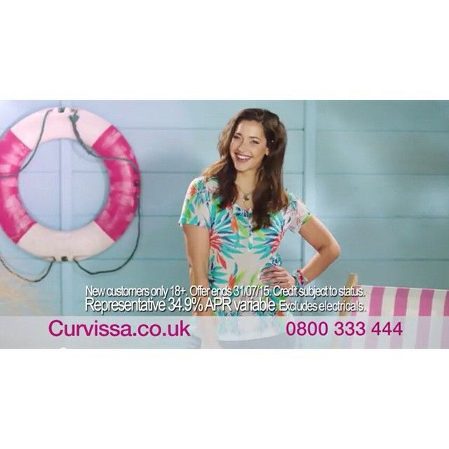 Our beautiful Emma stars in Curvissa's latest TV ad campaign  @curvissa #TV #advert #beachwear #holiday #model #chic http://youtu.be/DksH-KL7yl8 @ejdgoodall #fashion #12plusuk #12plusUKmodels #London #Europe #style #Beauty #modelswithcurves