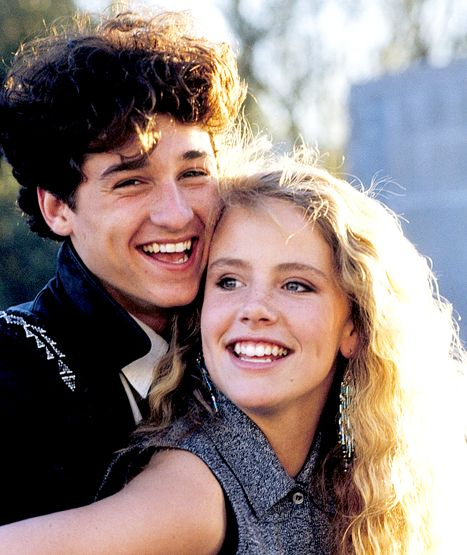 Patrick Dempsey and Amanda Peterson