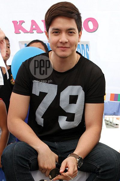 "Alden Richards on courting style: ""Be yourself."" 