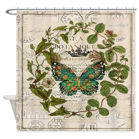 Curtains Ideas botanical shower curtain : 17 best ideas about Butterfly Shower Curtain on Pinterest ...