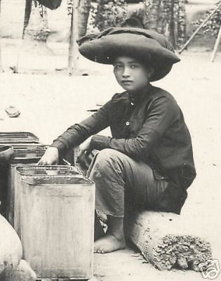 Batak photo pc Woman Seller # 1 Sumatra Indonesia 20s