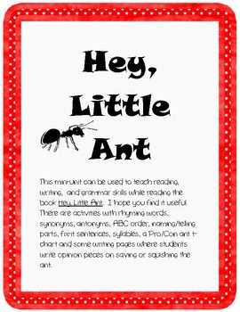 Hey Little Ant Mini Unit