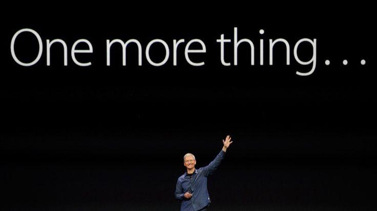 """Swatch se hace con la propiedad de la mítica frase """"One more thing"""" - http://www.actualidadiphone.com/swatch-se-hace-con-la-propiedad-de-la-mitica-frase-one-more-thing/"""