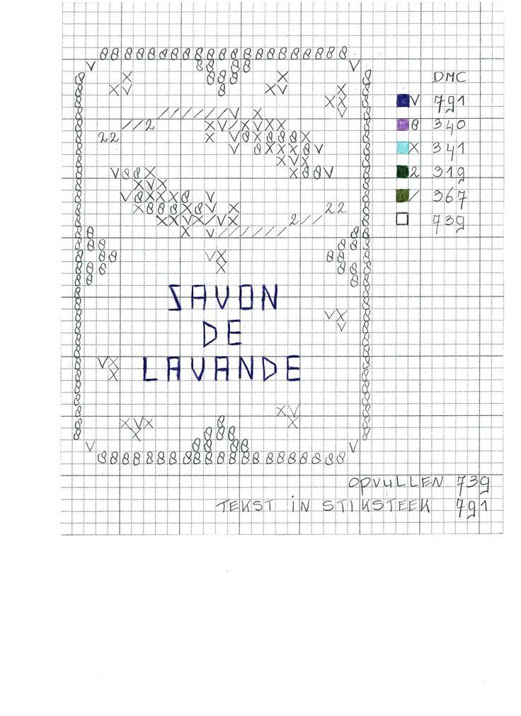 Hallo lieve allemaal, Zoals beloofd de kruissteek patroontjes van de borduurtjes uit mijn la Provence Pocket Letter! Ik kreeg best v...