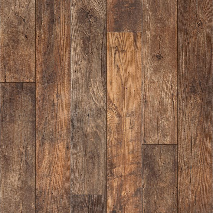 """A remarkably realistic 6"""" distressed oak pattern, Havana features the look of…"""