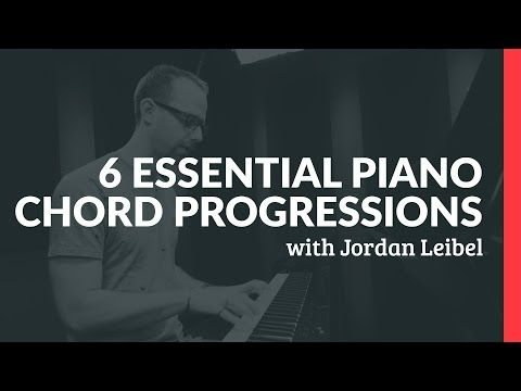 6 Essential Piano Chord Progressions - Piano Lessons (Pianote) - YouTube