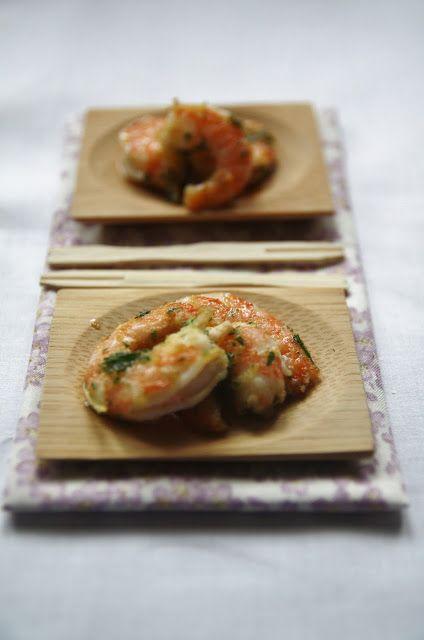 Gamberetti all'aglio