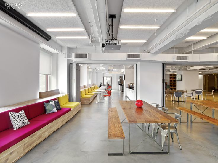 Manhattan tech and media offices pulse with the energy of the city.