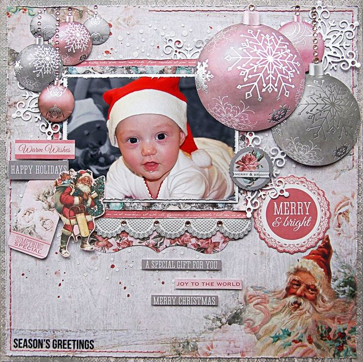 """<p>Hello everybody! Emmy here with you today sharing a layout I created with the amazing Kaisercraft's Silver Bells collection (available at Merly Impressions online store). And this time it is a pink one!To create my background I used Kaisercard Steel Weave Cardstock, which I altered with an edge stamp from the Clear Stamps <a href="""" http://www.merlyimpressions.co.uk/blog/project-portfolio/scrapbooking/special-gift-with-silver-bells/ """"> …click to read more</a></p>"""