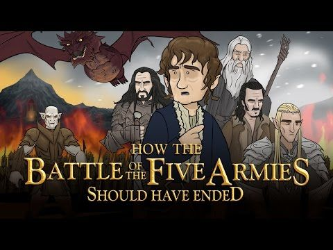 How The Battle Of The Five Armies Should Have Ended (feat. Screen Junkies) - YouTube ~ This is the best one EVER! XD