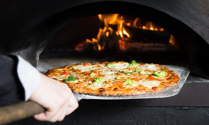 Bricks Wood Fired Pizza - Belmont: Pizza-Making Class for 1, 2, or 4 with a Glass of Wine or Craft Beer at Bricks Wood Fired Pizza (Up to 52% Off)