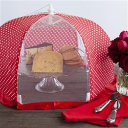 For mum: Chefs Complements - Food Tent Polka Dot Red