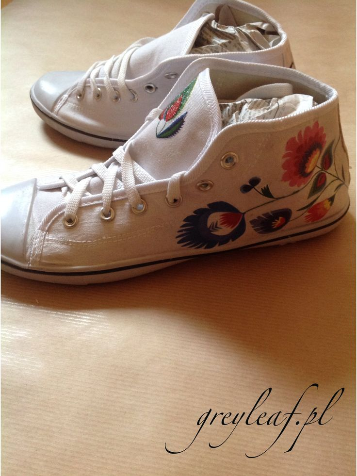 Folk sneakers by greyleaf.pl . More at: http://www.greyleaf.pl/blog/folk-sneakers/