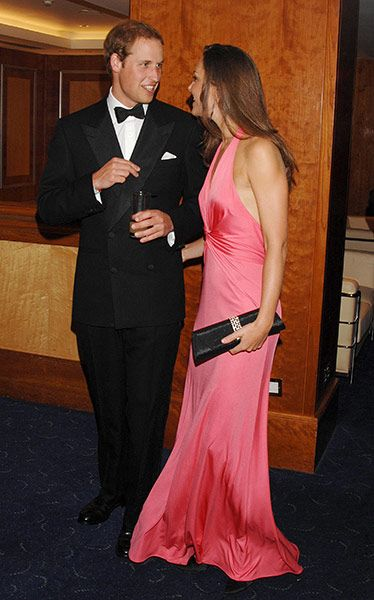 Kate Middleton & William:  Prince William and Kate Middleton at the Boodles Boxing Ball