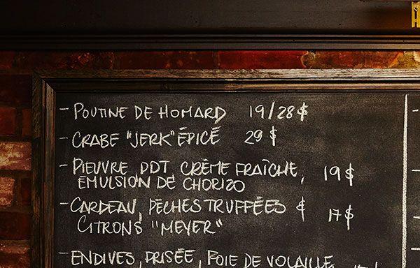 Restaurant Garde Manger - Montreal