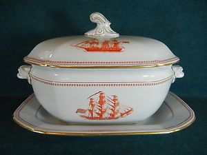 Red Soup Tureen   Copeland-Spode-Red-Trade-Winds-W128-Large-Soup-Tureen-with-Lid-and ...