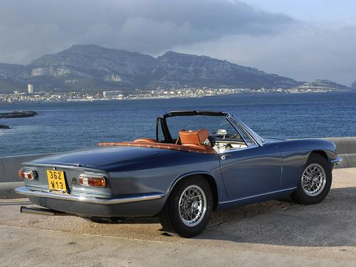 1963 Maserati Mistral Spyder. Will be featured soon on in2motorsports.com