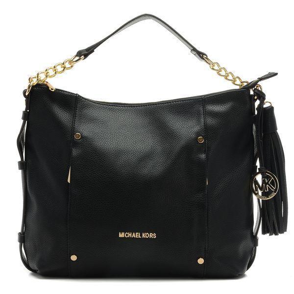 MICHAEL Michael Kors Large Weston Pebbled Shoulder Bag ...
