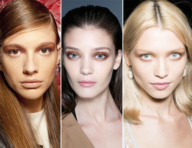 Spring/ Summer 2014 Makeup Trend: Tan Eye Makeup  #makeup #beauty #trends