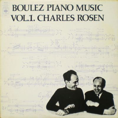 Music is the Best: Pierre Boulez - Piano Music vol. 1.