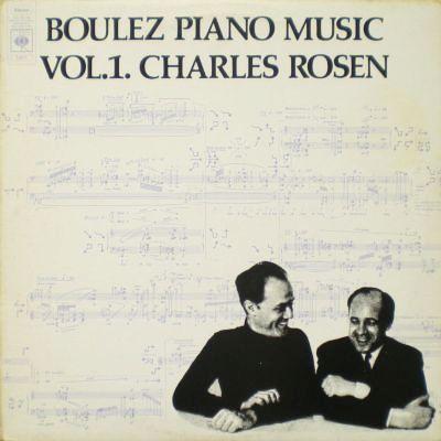 Music is the Best: Pierre Boulez - Piano Music vol. 1.