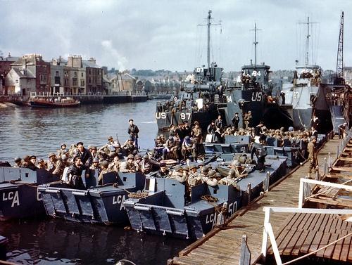 Weymouth, 5th June 1944.