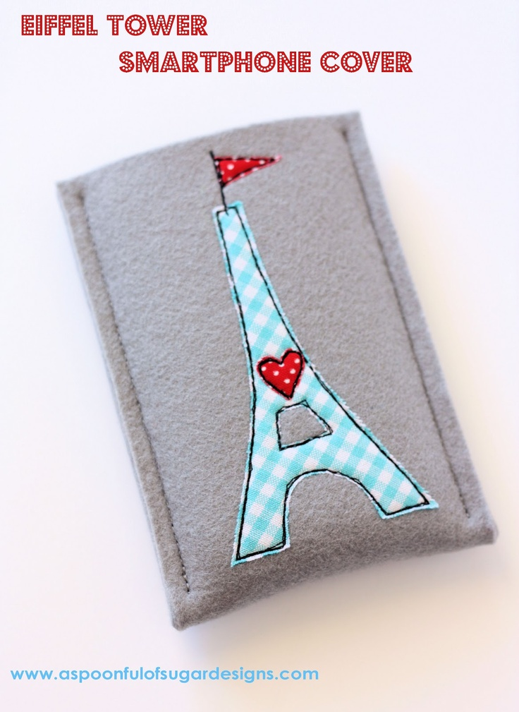 Tutorial: Eiffel Tower Smartphone Cover | A Spoonful of Sugar